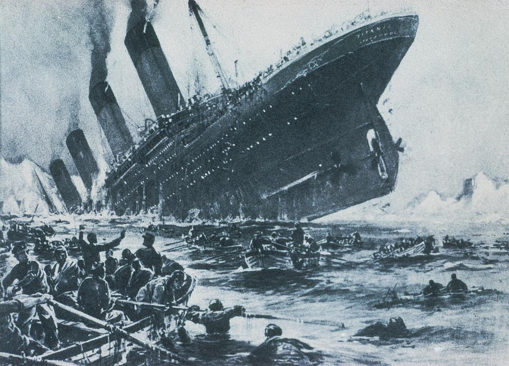 Degrees of slavery for I salonisti titanic